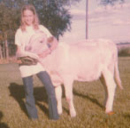 dee with cow